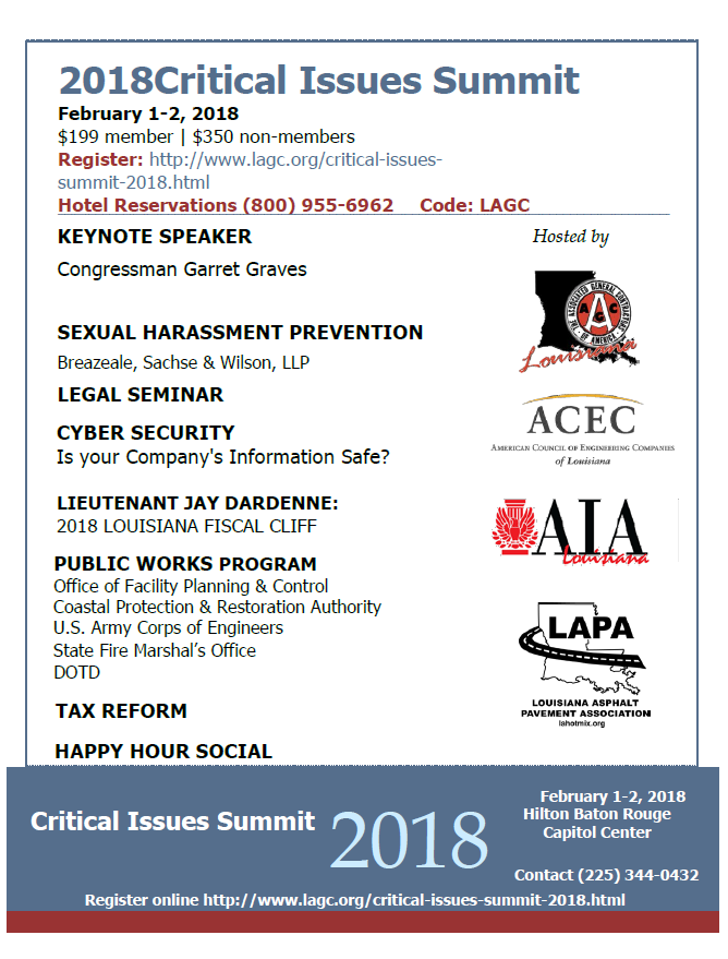Critical Issues Summit