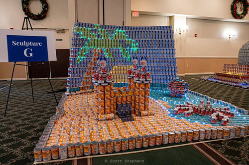 ACEC of New Jersey's Can Sculpture Contest Raises $1,500 for Charity