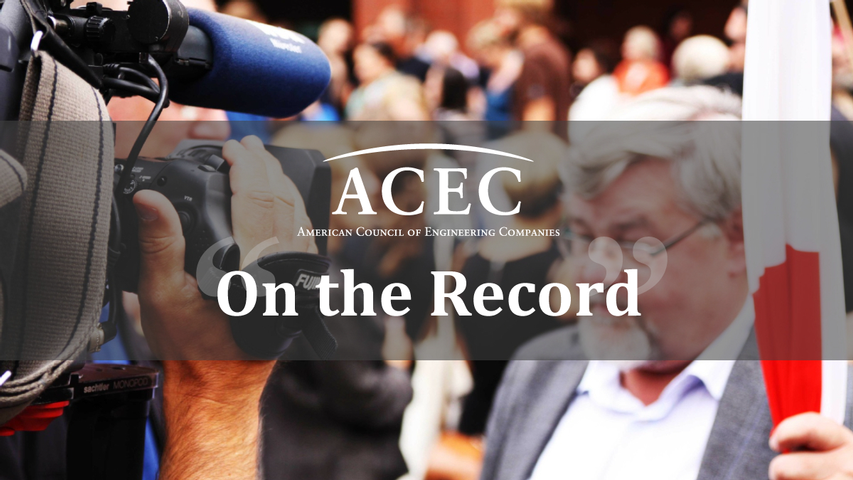 ACEC  President/CEO Linda Bauer Darr's Statement on President's Budget