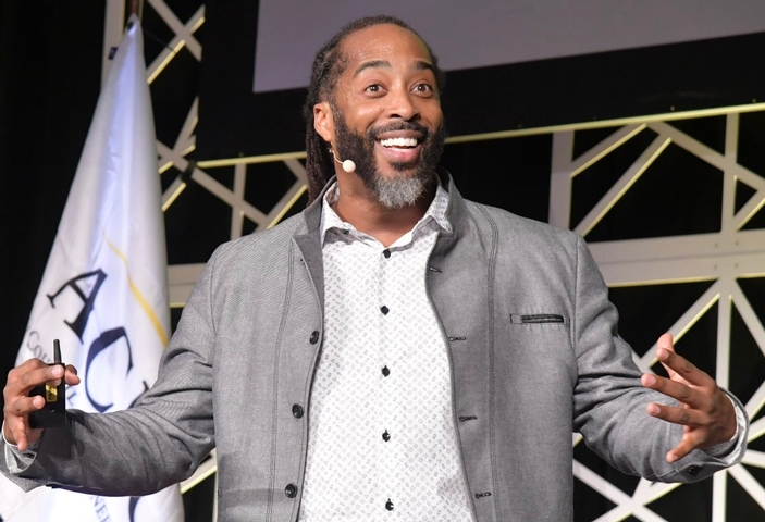 Inspirational Speaker Sekou Andrews Calls on Fall Conference Attendees to