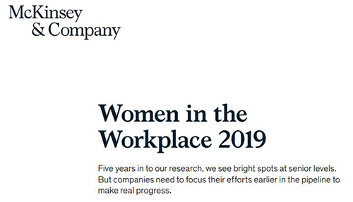 Five-Year McKinsey Study Finds Slow Improvement for Women in Workplace