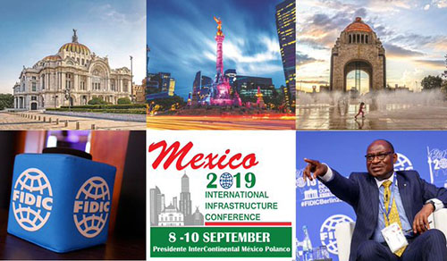 ACEC's Howard Set To Be 2019-2021 FIDIC President at Interational Engineering Conference, Mexico City, September 8-10