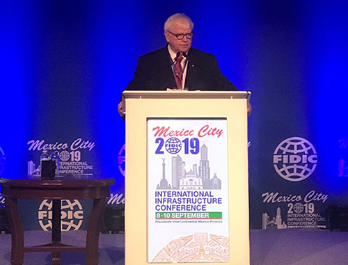 CDM Smith's Bill Howard Ascends to FIDIC Presidency