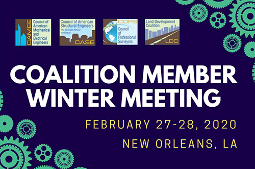 Register Now For the 2020 Coalition Winter Member Meeting, New Orleans, 2/27-2/28