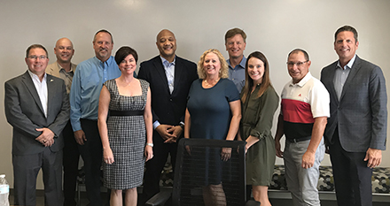 ACEC/Indiana Leaders Discuss Transportation with Representative Andre Carson