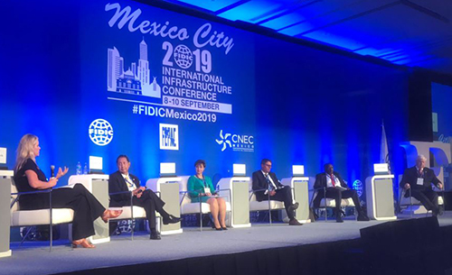 ACEC President/CEO Linda Bauer Darr Leads Panel at FIDIC Conference