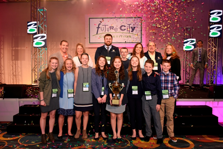 Indiana's Norwell Middle School Wins  Engineers Week Future City Competition