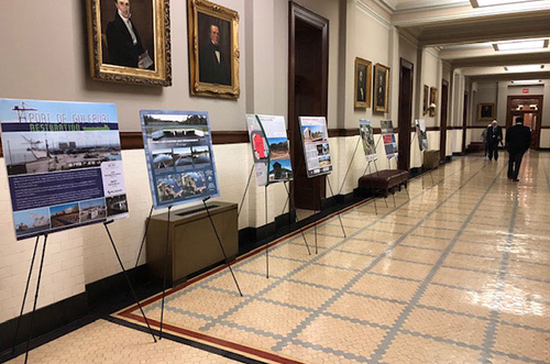 ACEC/Mississippi Celebrates E-Week With EEA State House Display, Radio Ad