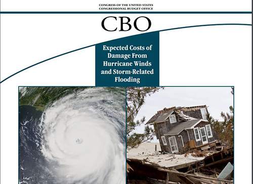 CBO Report Estimates Damage from Hurricane Winds and Flooding Costs $54 Billion Annually