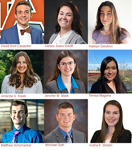 Nine Top Engineering Students to Receive ACEC Scholarships