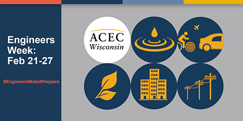 ACEC Wisconsin Seeks to Flood Social Media  with E-Week Celebration Graphics